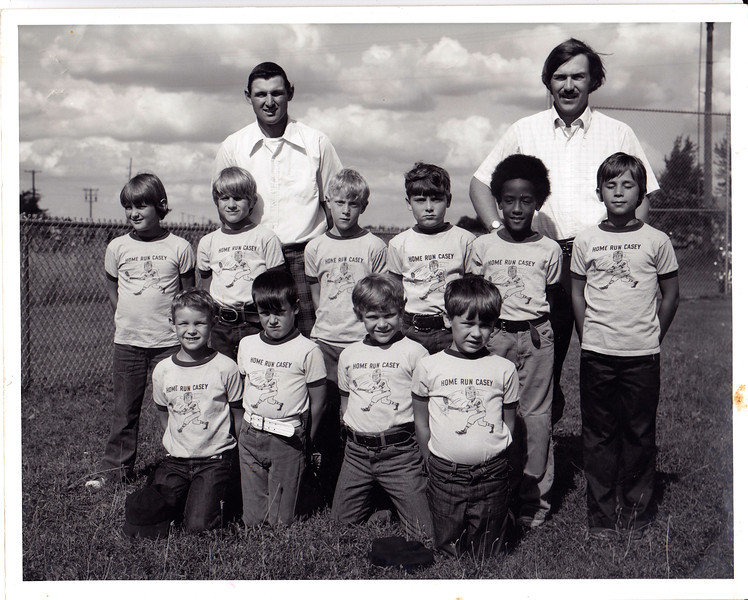 Jim Peewee baseball team