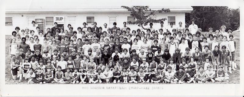 Jim at Lake James Basketball camp