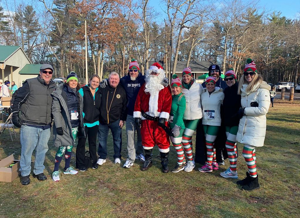 . Santa and his fans