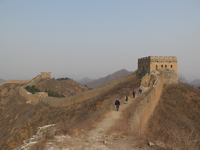 Jinshanling Great wall hike
