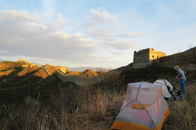 gubeikou to jinshanling great wall camping