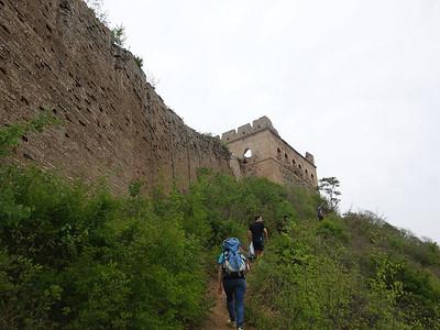 Jinshanling Great wall hiking and camping