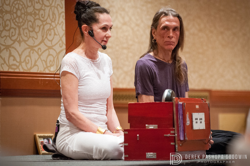 Sharon Gannon and David Life at NYC Yoga Journal COnference