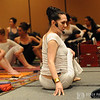 Sharon Gannon teaches Ardha Matseyendrasana at Yoga Journal Conference