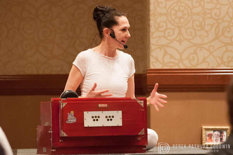 Sharon Gannon at NYC Yoga Journal Conference