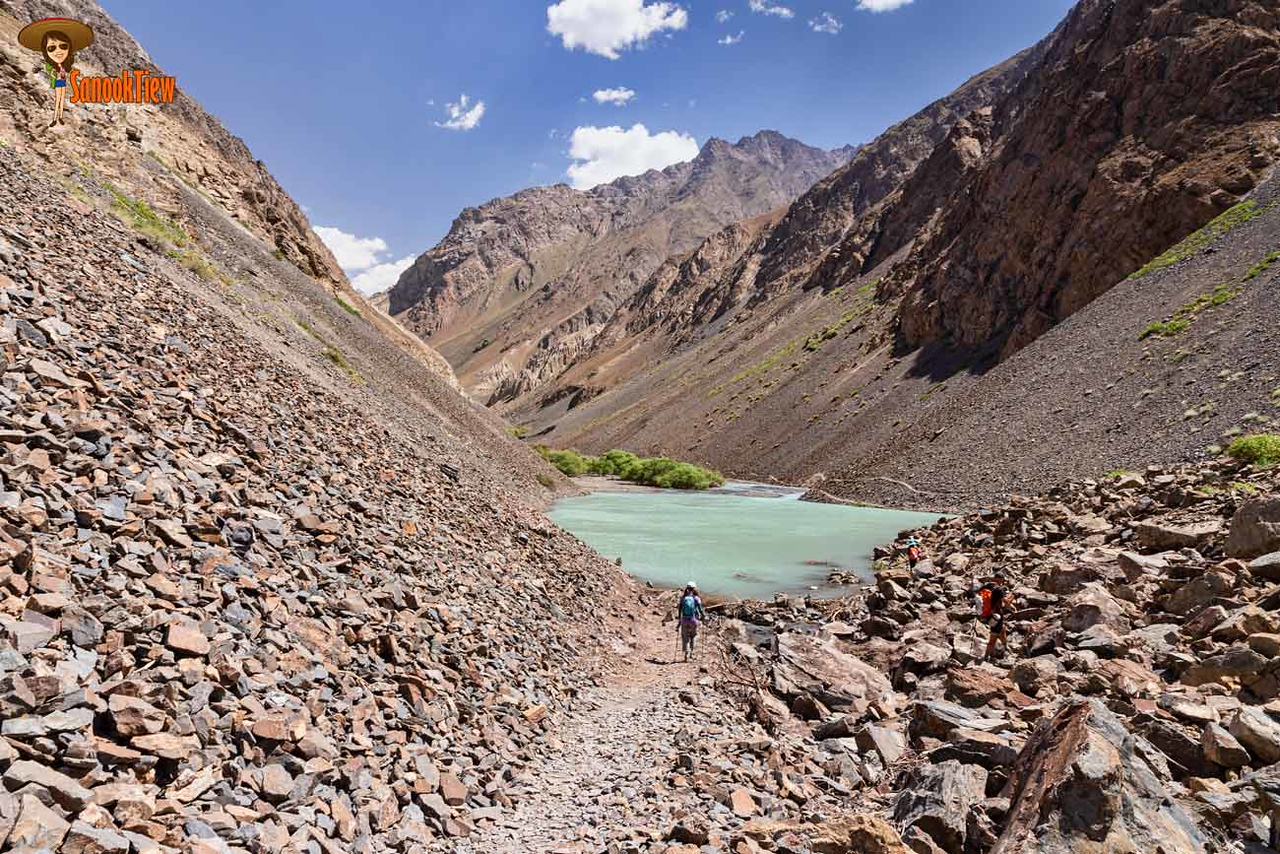 หมู่บ้าน Jizew Tajikistan ทาจิกิสถาน
