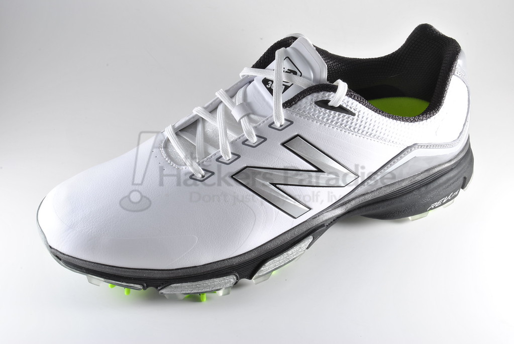 info for fc2d9 7b0d2 The white upper accented with silver combined with the black REV-Lite sole  makes for a shoe that easily goes with any wardrobe styling from bright to  ...