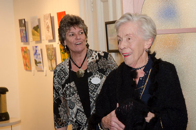 Joan Harvey's 90th birthday party  -25 June 2016 -  Dunedin Railway Station - Otago Art Society Rooms