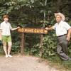 Lynn & JoAnn  at Old Man's Cave  - 1968