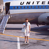 Leaving Columbus - United Airlines - 1st flight - 8-69 (2 - AUG 69)
