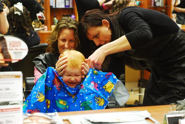 Joanna 1st Haircut 1-30-10