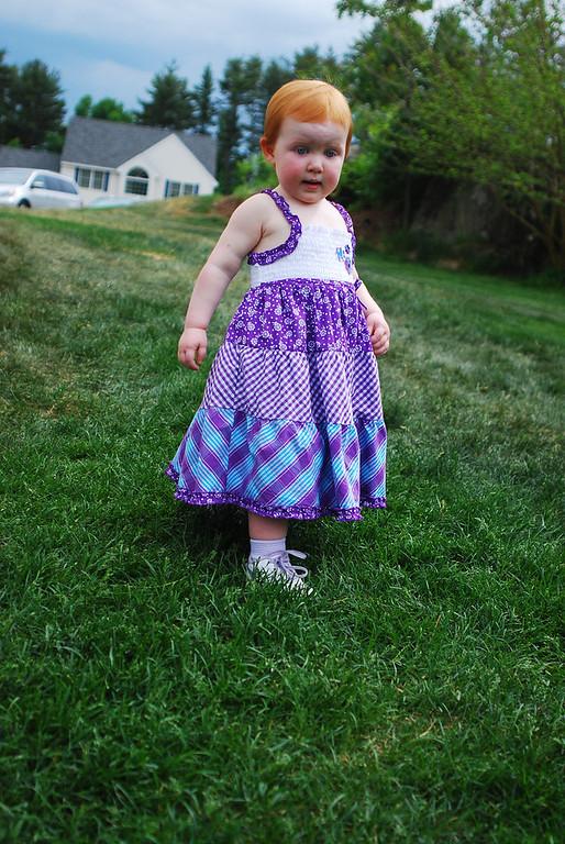 Joanna Purple Dress 5-29-10