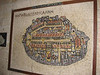 Replica of map of Jerusalem from... uh, some long-ago time