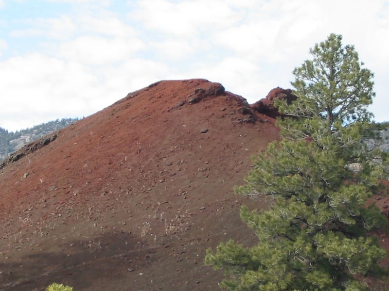 Mini-volcano