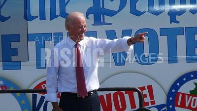 Joe Biden at a Nuns on a Bus Event in Des Moines, IA