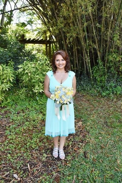 Beautiful wedding at USF Botanical Garden, Tampa FL