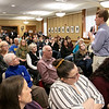 Joe Kennedy III held a town hall meeting at Leominster Public Library Saturday, Jan. 25, 2020. Kennedy answers questions during the event. SENTINEL & ENTERPRISE/JOHN LOVE