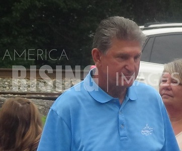 Joe Manchin At July 4th Parade In Alderson, WV
