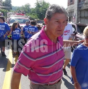 Joe Manchin At Memorial Day Parade In Grafton, WV