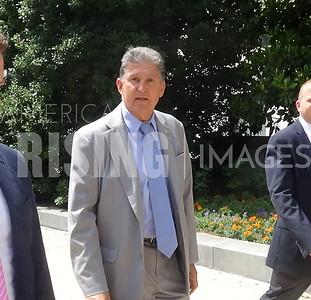 Joe Manchin At Hart Senate Office Building In Washington, DC