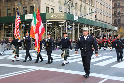 Parade - FDNY Emerald Band, Manhattan, NY - 11/11/18