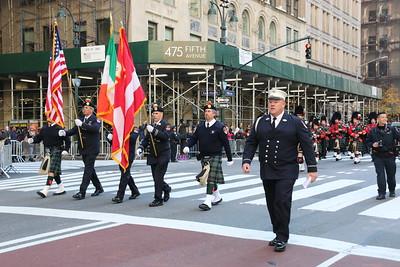 Parade - FDNY Emerald Band, Manhattan, NY - 11/11/18