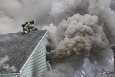 House Fire - Elam St, New Britain, CT - 2/24/19