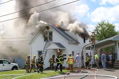 2 Alarm House Fire - 20 Fairbanks St, Plainville, CT - 5/16/19