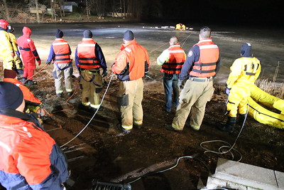 Water Rescue Drill - Berlin, CT - 2/4/19