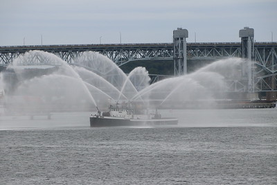 Fire Boat Shoot - Ret FDNY Fireboat Firefighter, New London, CT - Unknown Date