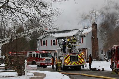 Structure Fire - 110 Parish Drive, Kensington, CT - 12/15/17