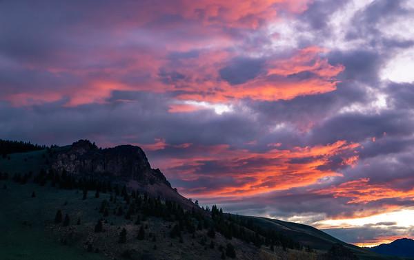 Copper Basin Sunset