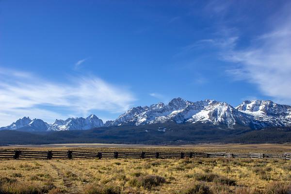 Sawtooth Mountains - Idaho