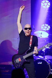 Joe Satriani live at Fillmore Detroit on 4-13-16.  Photo credit: Ken Settle