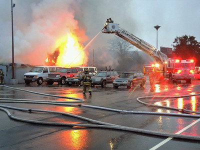 3 Alarm Structure Fire - 401 North Main St,  Norwich, CT - 10/30/16