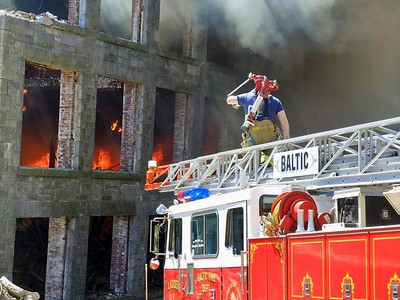 Mill Fire - 29 Bushnell Hollow Rd, Baltic, CT - 4/23/18