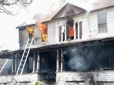 3 Alarm House Fire - 1 N Canterbury Rd, Canterbury, CT - 4/28/18