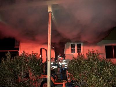2 Alarm House Fire - No Address, Occum, CT - 2/27/18