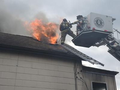 Structure Fire - 76 School St, Norwich, CT - 1/2/15