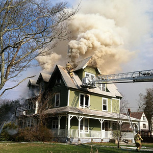 Structure Fire - Washington and Lincoln Ave, Norwich, CT - Unknown Date