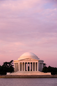 Jefferson Memorial at Dawn