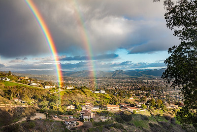 Double Rainbow over Camarillo
