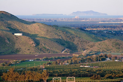 Santa Rosa Valley with Anacapa Island in Background