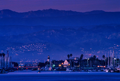 Telephoto View of Fisherman's Wharf, Oxnard