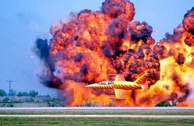 Mugu Air Show, Wall of Fire 2007