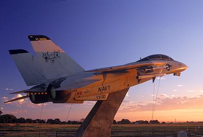 Jet Monument at Ventura County Naval Base at Pt. Mugu