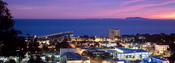 Night falls on Ventura