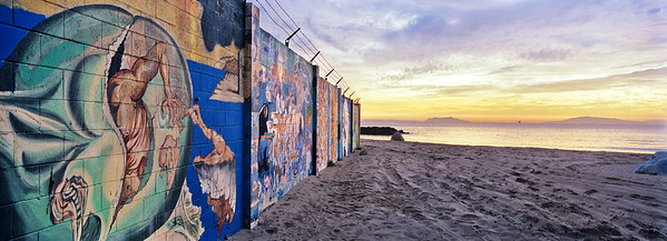 Mural Wall, Silverstrand Beach