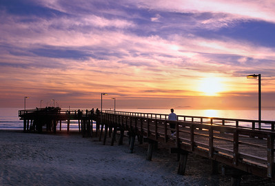 Port Hueneme Pier Sunset