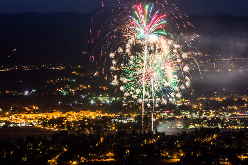 3rd of July Moorpark Firewoks Extravaganza
